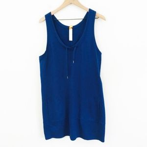 Lucy Navy Blue Athletic Dress